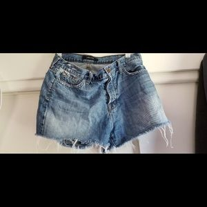 J BRAND jean shorts, size 28, used